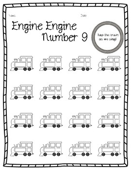 Engine Engine Number 9 Worksheets