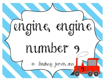 engine engine number nine a chant for steady beat and rhythm by