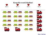 Engine, Engine, Number Nine   Beat & Rhythm Practice - Elementary Music