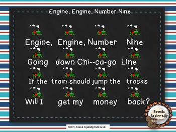 Engine, Engine Number Nine Chant and Activities