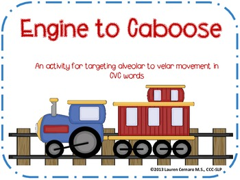 Engine to Caboose: An Activity for Targeting Alveolar to Velar Movement