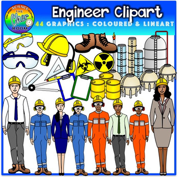 Engineer Clipart (Career/Job)