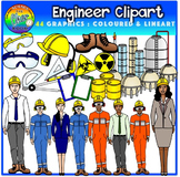 Engineer Clipart (Career/Job)