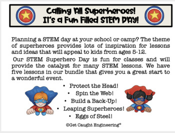 STEM and Super Heros!