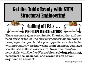 Thanksgiving with STEM!
