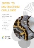 Engineering 101 Career Exploration Challenge (distance lea