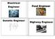 Engineering Careers A-Z Word Wall