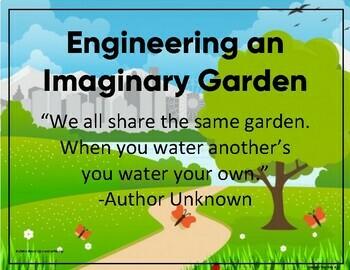 Plant Study: Engineering An Imaginary Garden STEM