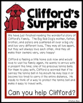 Engineering Books to Brief Design Process Clifford the Dog STEM