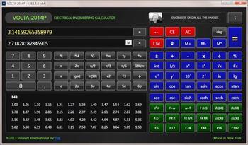 Engineering Calculator VOLTA-2014 for Windows, USER MANUAL