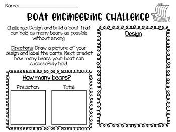 Engineering Challenge: Boat Design
