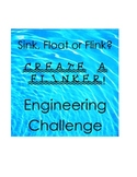 Engineering Challenge- Design a FLINKER that doesn't float or sink STEM