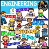 Engineering Clip Art Bundle {Educlips Clipart}