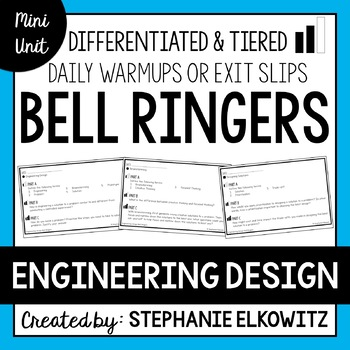 Engineering Design Bell Ringers