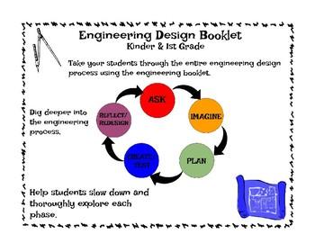 Engineering Design Booklet - 1st-2nd Grade