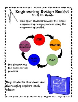 Engineering Design Booklet - 4th-5th Grade