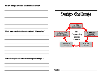 Engineering Design Challenge Lab Booklet
