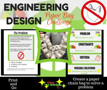 Engineering Design Challenge - Paper Chain Plastic Bag