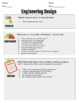 Engineering Design:  Constraints and Criteria (EDITABLE)