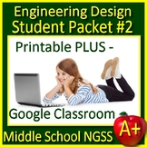 7th Grade Engineering Design Process Science Distance Learning NGSS GOOGLE Ready
