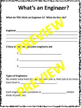 Engineering Design Hands On Activity Opener/Team Builder ETS1-1,2,3 (Editable)