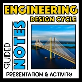 Engineering Design Process - Presentation,  Interactive Notes, Activity