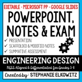 Engineering Design Process PowerPoint, Notes & Exam - Goog