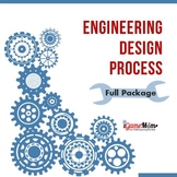 Engineering Design Process Chart with Worksheets