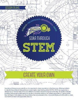 Engineering Design Process - Create Your Own -STEM Lesson Plan With Journal page