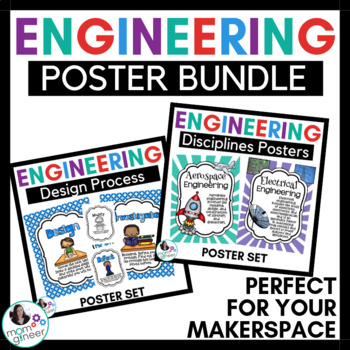 Engineering Design Process & Disciplines Posters BUNDLE