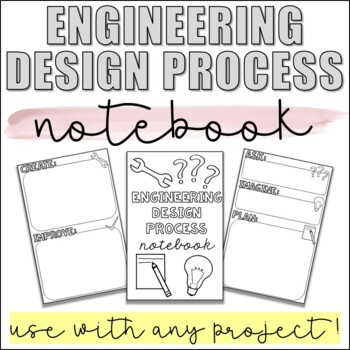 Engineering Design Process Flip Book for ANY STEM Activity
