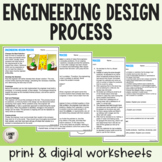 Engineering Design Process - Guided Reading - PDF & Digita
