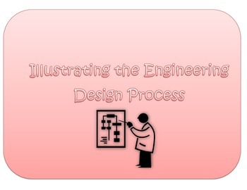Engineering Design Process Illustration STEM activity