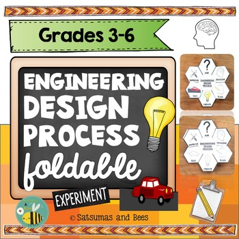 Engineering Design Process/ STEM-Interactive Science Notebook foldable