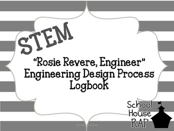 Engineering Design Process Logbook By School House Rap Tpt