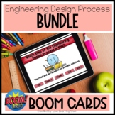 Engineering Design Process Boom Cards Bundle | Criteria an