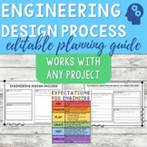 Engineering Design Process Planning Sheet and Rubric