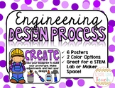 Engineering Design Process Posters - 2 Versions!
