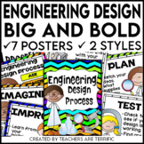 Engineering Design Process Posters Big and Bold Version