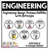 Engineering Design Process Posters - Google Slides - with Bitmojis
