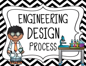 Engineering Design Process Posters Primary STEM