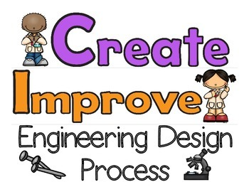 Engineering Design Process Posters (STEM)