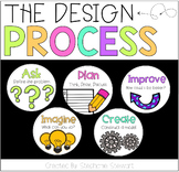 Engineering Design Process Posters (White)
