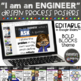 Engineering & Design Process Posters for STEM or STEAM - B