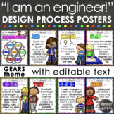 Engineering & Design Process Posters for STEM or STEAM - G