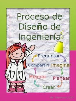 Engineering Design Process/ Proceso de Diseño de Ingeniería (Spanish)
