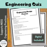 Engineering Design Process Quiz Printable