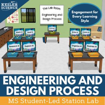 Engineering Design Process Student-Led Station Lab