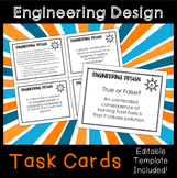 Engineering Design Process Task Cards
