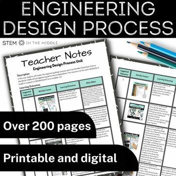 Engineering Design Process Unit (MS-ETS1-1, MS-ETS1-2, MS-ETS1-3, MS-ETS1-4)